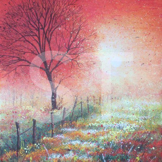 Arsura estiv 60x80 - dipinto di Silvia Tassoni