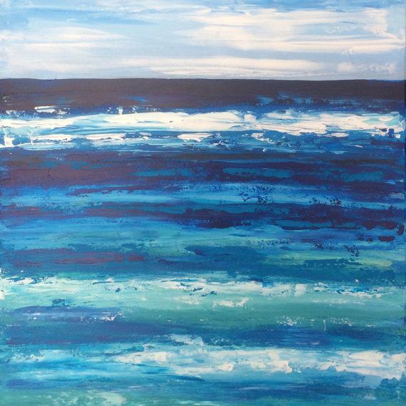 La Lontananza - 50x70 - dipinto di Silvia Tassoni