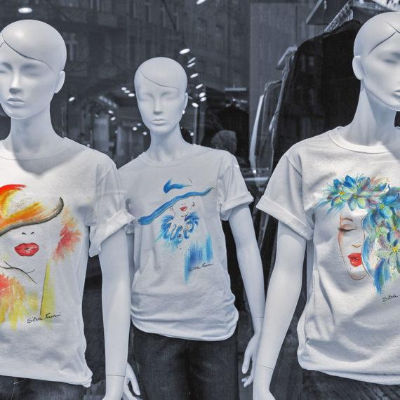 t-shirts textile design