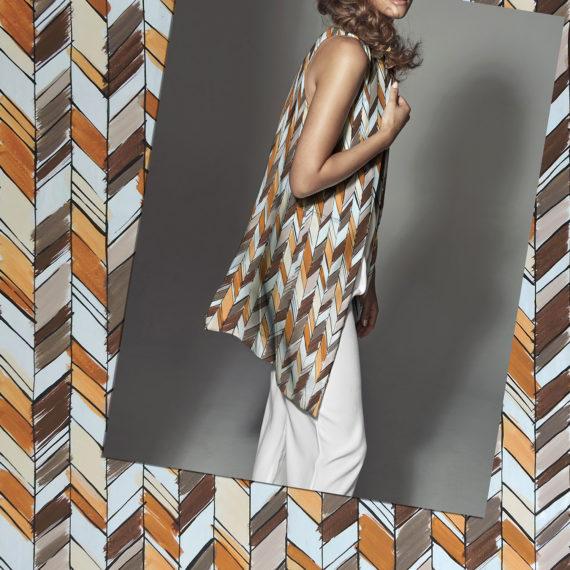 textile design geometric style