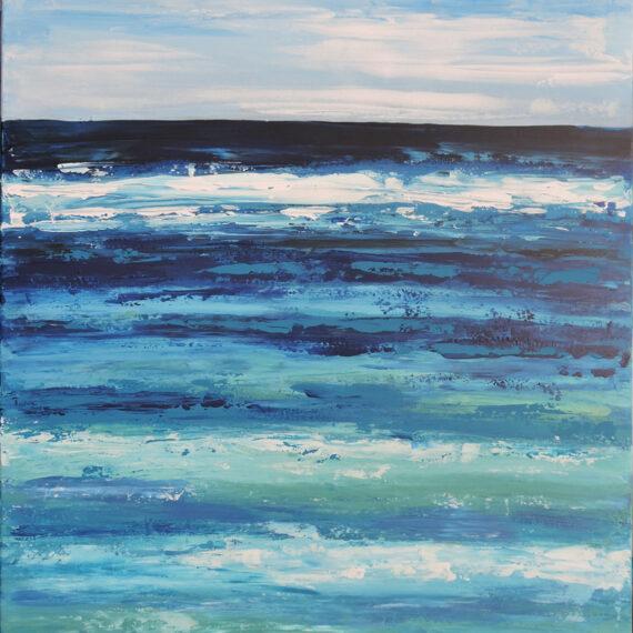 Mare 50x70 - dipinto di Silvia Tassoni